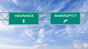 Having life insurance for key persons can help your company avoid the path to bankruptcy.